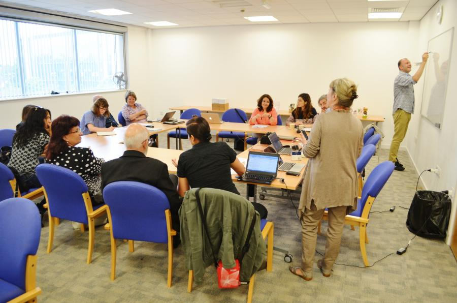 Photos from the second project meeting under the VISION project, which took place in Cardiff, Wales in July 2015.