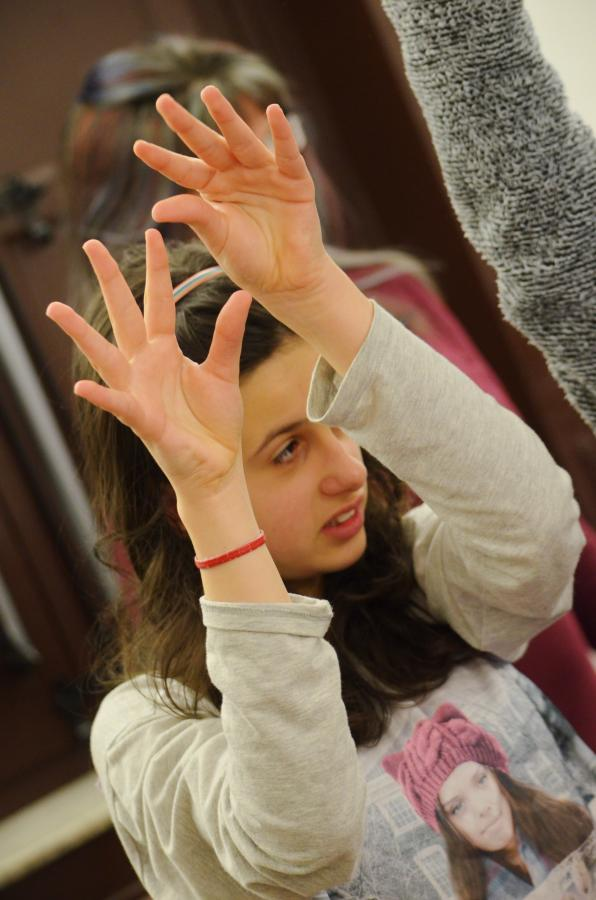 Final international week of the theatre workshops in Palermo - part 2