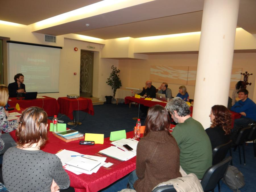 First project meeting - Sofia, BG